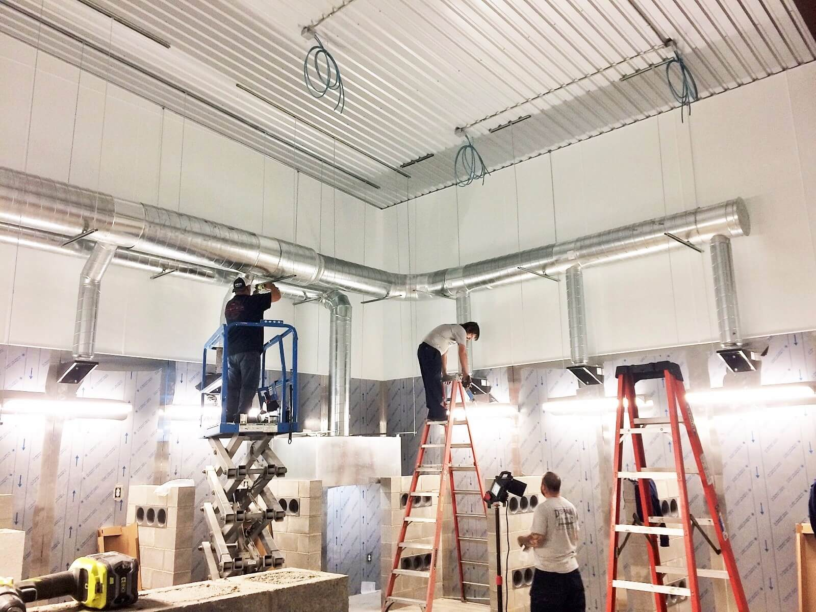 Boerne Tx Commercial Hvac Electrical Service Dspain Sales Ice Machine Wiring Services