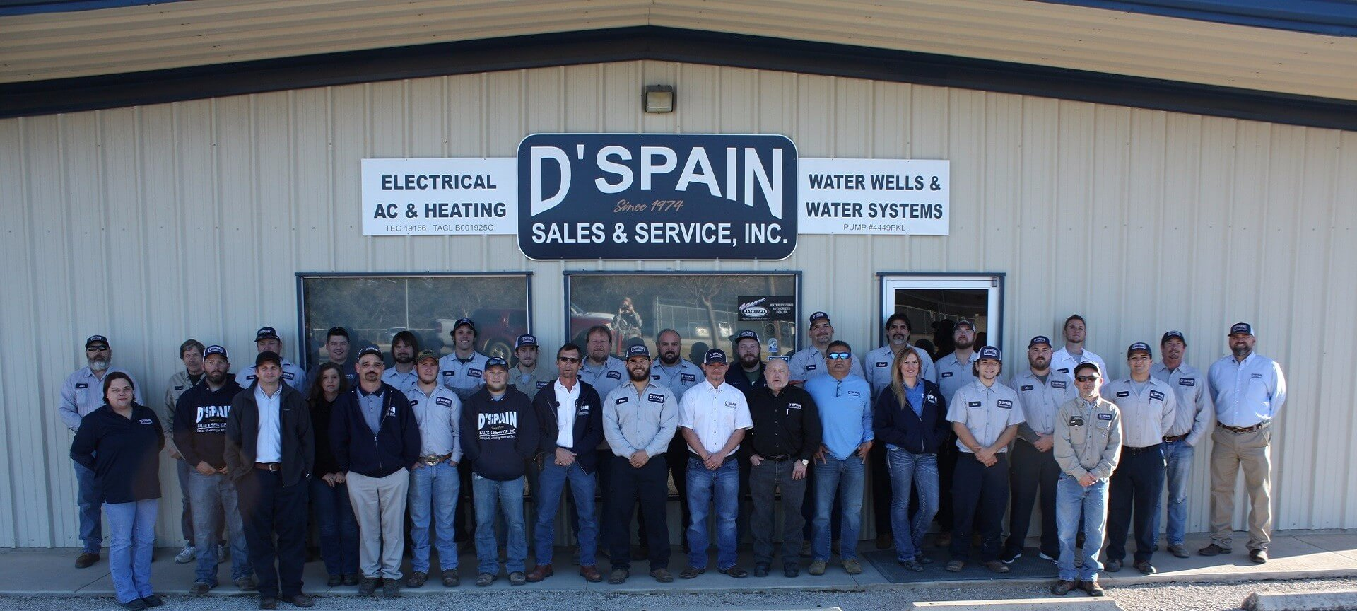 DSpain Sales Service Inc Your HVAC Electrical And Water Well Specialist In Boerne The Surrounding Texas Hill Country