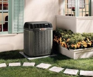 A new heat pump system in Perkasie, Bucks County PA.